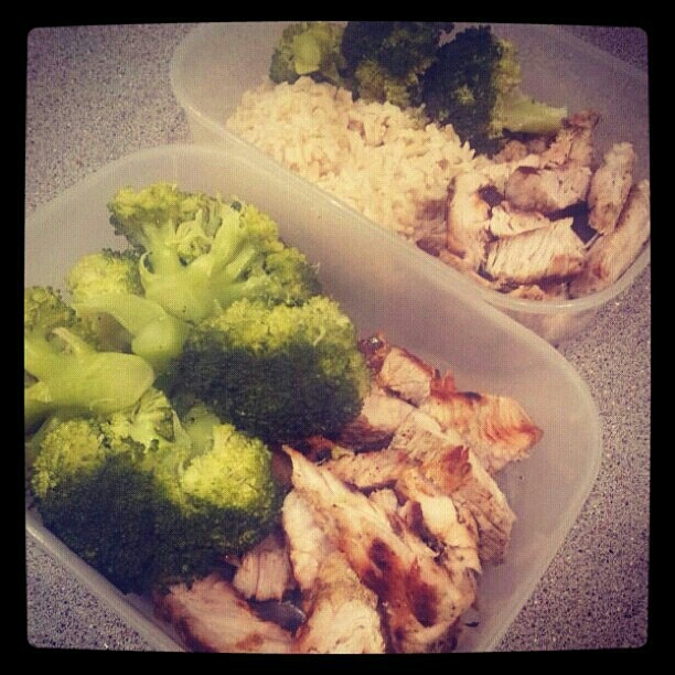 Tomorrow Lunch and pre workout meal.. Ready to rock and roll to the tune of a low carb day!   #Fitness #health #nutrition #food #foodporn #prep #foodie