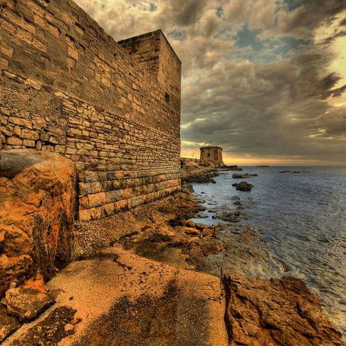 Trapani - the old walls ( Explore ) by rinogas on Flickr.