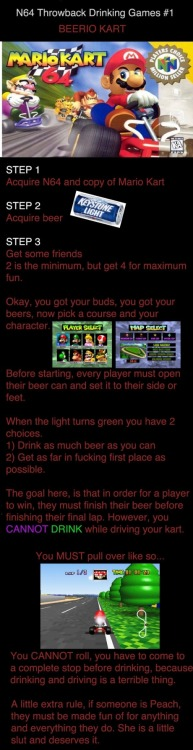 effiemarie:  Beerio Kart someone please play this with me