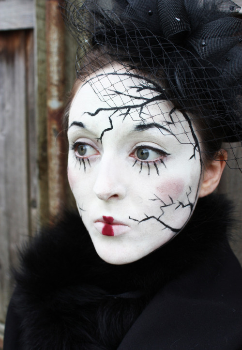 Broken doll face paint, 2012