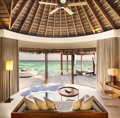 homedesigning:  (via W Retreat and Spa, Maldives)