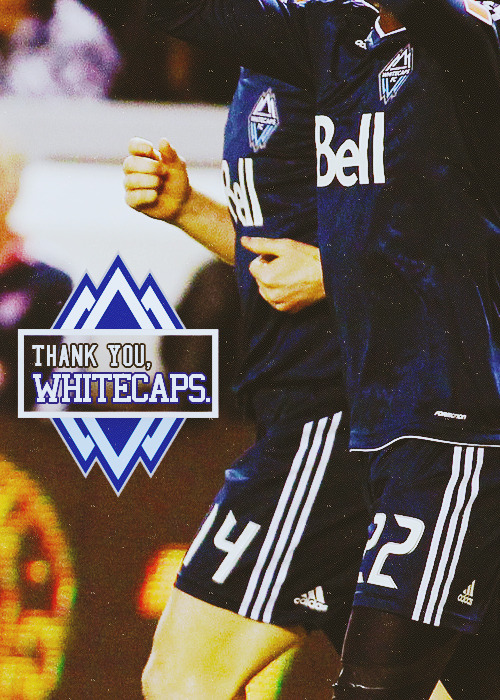 Thank you, Vancouver, for your effort and heart that you left on the pitch.