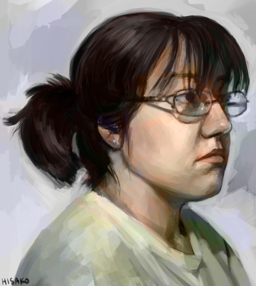 nov 1 is self portrait day ~2 hrs including some lame colors