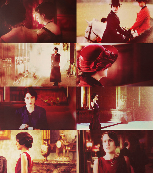 ↳ Mary Crawley + Red | requested by at-the-burrow