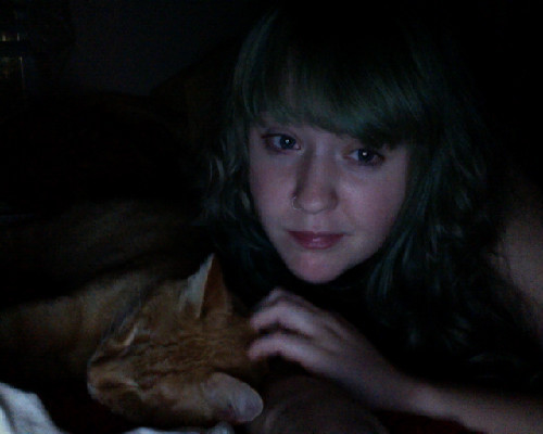 creying because i love my cat and he still loves me. my bloody valentine listening reunion party