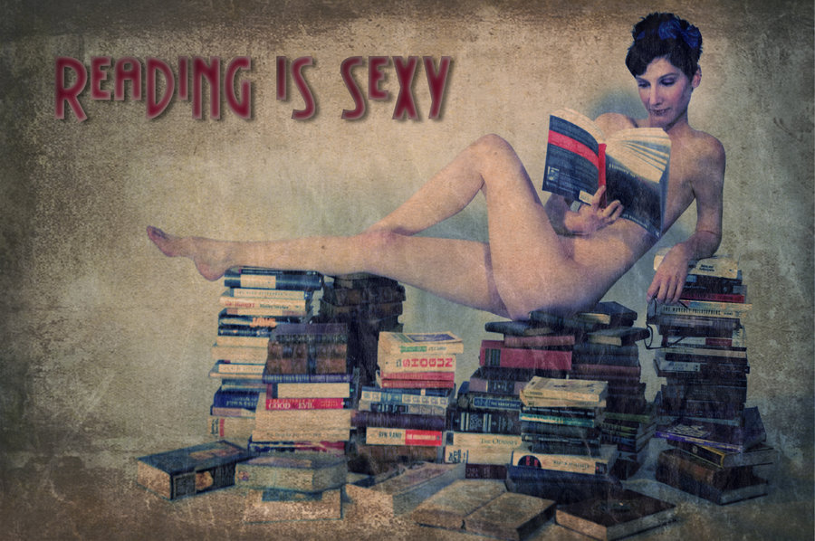fumettierotici:  bookporn:  Reading Is Sexy by illiara  ,