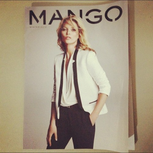 My copy of Mango Winter 2012 Catalogue for having an RCBC Mango Card