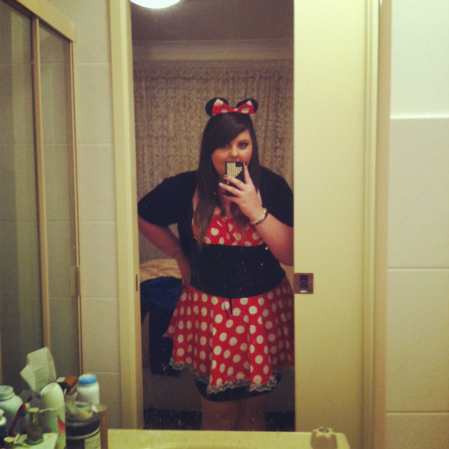 Halloween costume :) Jack Barakat tweeted me saying I looked cute! ^.^