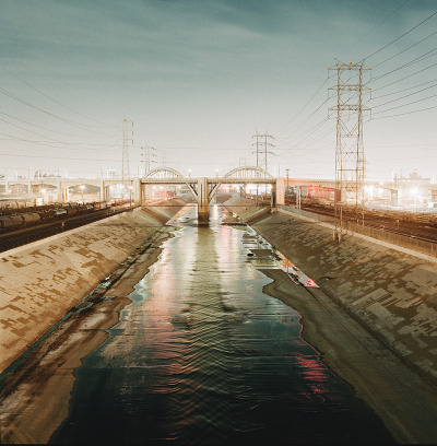 davetada:  LA River  Downtown LA, CA