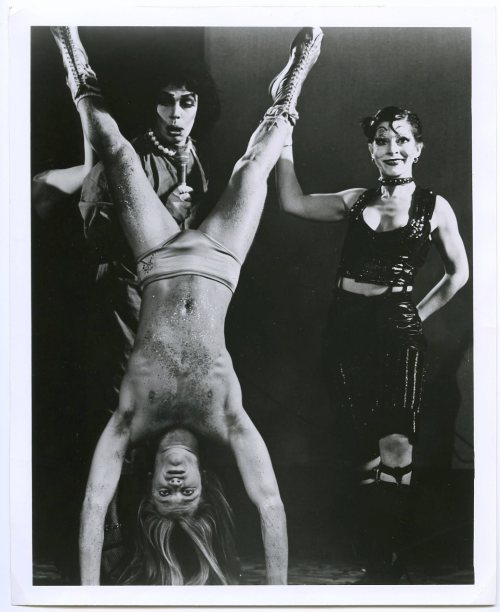 "The Rocky Horror Show - 1975 Original Broadway Cast, The Belasco Theatre - NYC (either ""Charles Atlas Song"" or ""Charles Atlas Song (Reprise)"", cant tell for sure!) Frank-N-Furter (Tim Curry), Rocky Horror (Kim Milford), Columbia (Boni Enten)"