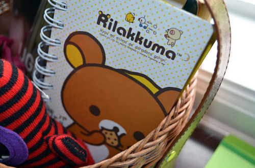 irresistableness:  Rilakkuma by Paper Parachute on Flickr.