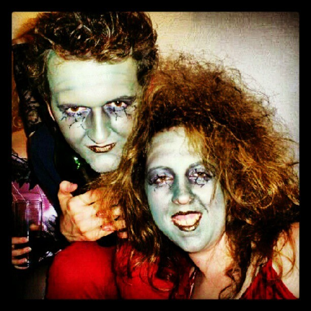 Still loving Halloween night! #Halloween #zombie