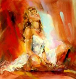 Amazing Painting by Anna Razumovskaya