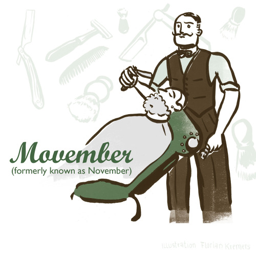 Movember Grow a moustache for a good cause