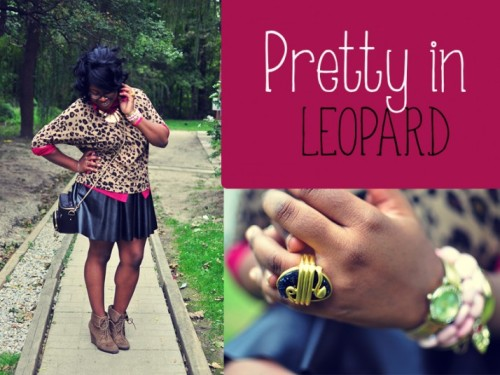 Love Hartley: PRETTY IN LEOPARDby Cymone Hartley http://bit.ly/SktzGU