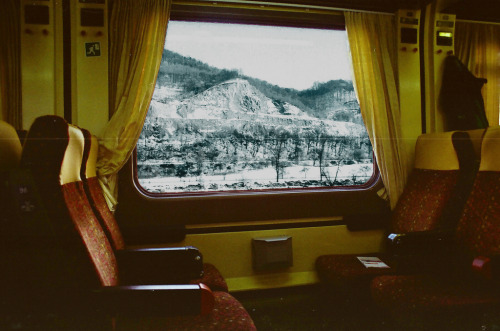 porchlife:  by train
