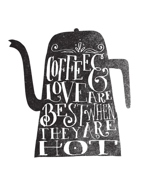 wellkeptthing:  Coffee & love