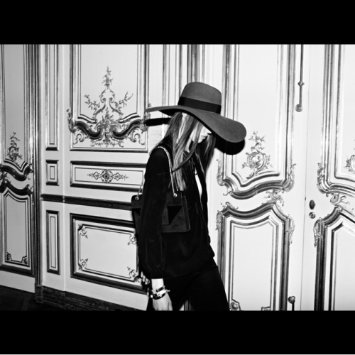 The making of Hedi Slimane's first collection for Saint Laurent