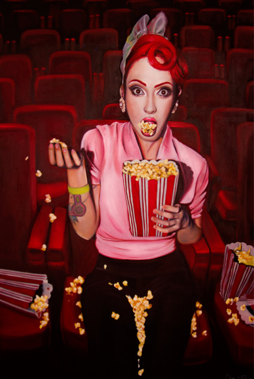 Popcorn Thriller by ~KellyEden on deviantART