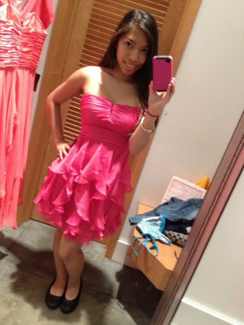 dress shopping ;)