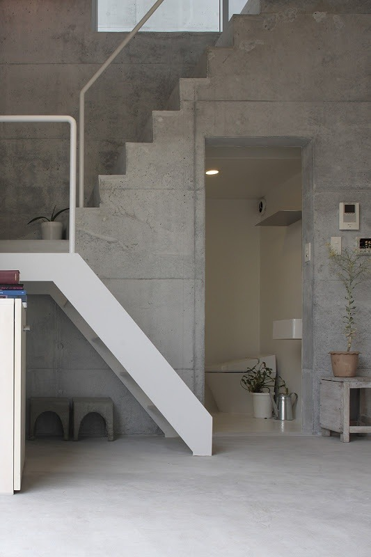 Staircase By Ikimono Architects