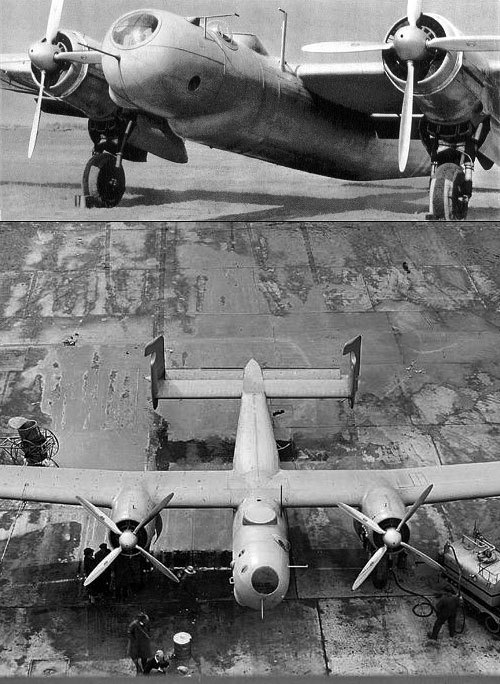 The Junkers EF 61 pressurised high-altitude bomber prototype, 1937 (via)
