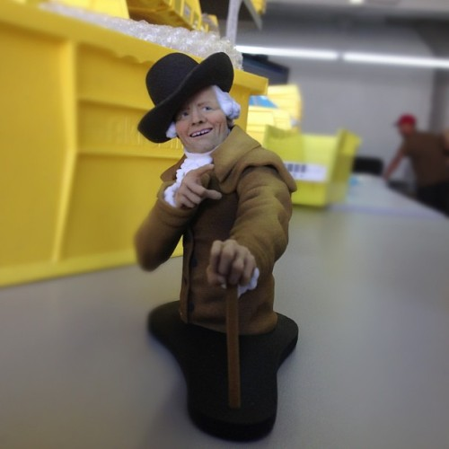 More 3d prints from the meme machine (at Shapeways LIC)  Joseph Ducreux Sculpture 3D Printed by Shapeways