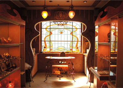 (via The Art Nouveau Blog: Art Nouveau House Interior Architecture)