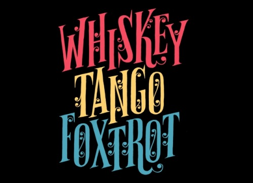 threadless:  Whiskey Tango Foxtrot by Esther Aarts is available as a tee, hoody or an iPhone case!