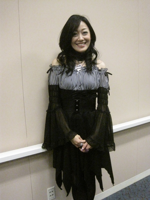 Yu Asakawa at New York Comic-Con 2012!