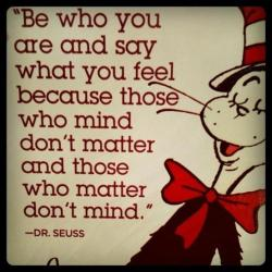 My childhood hero, Dr. Suess