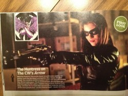 First Look at Arrow's Huntress