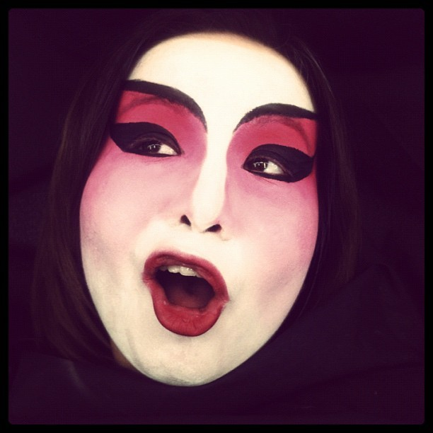 #chinese #opera #makeup #josephhinds