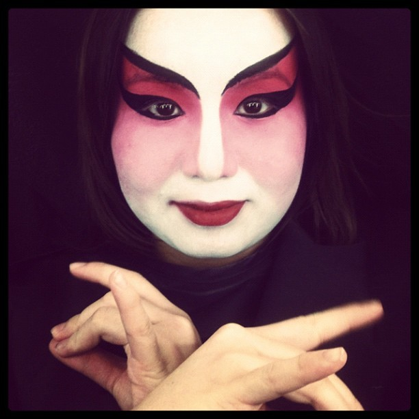 #chinese #opera #makeup #josephhinds #iphoneasia