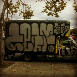 ZEAM Truck - East Bay, CA - #BTM #Graffiti #Zeam #truckGraffiti