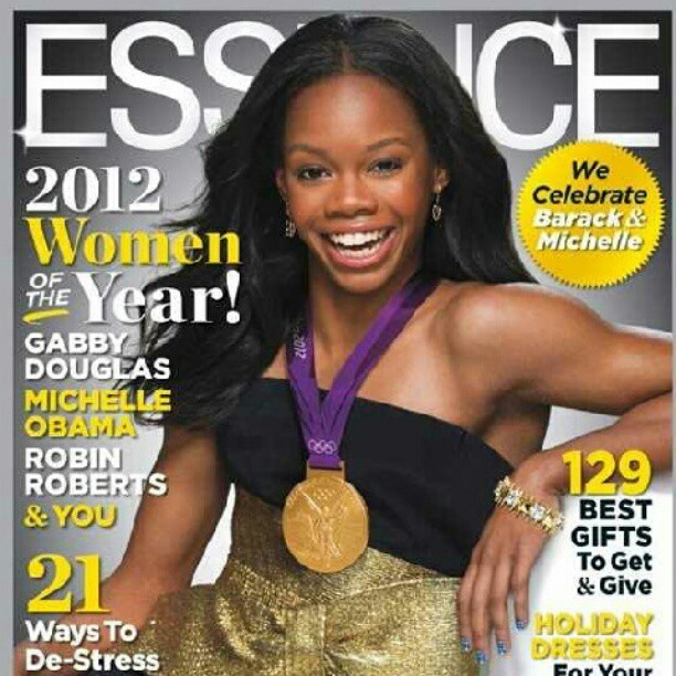 Gabby better get it! So in love with this! #Essence #BlackWomen #women #olympics #beauitful #EssenceMagazine #2012WomenOfTheYear #December