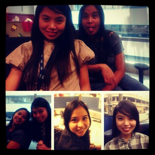 Krung girls of Citi APAC Mamimiss ko kayo! :) (at Citibank Tower)