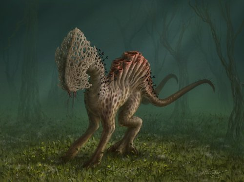 Fungal Hound by K.L. Turner