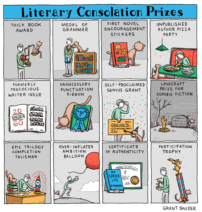 National Book Awards Consolation Prizes