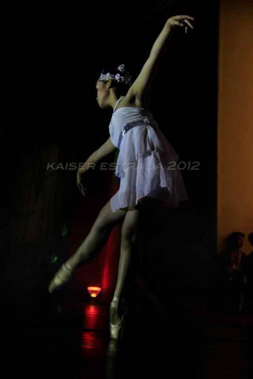 Talent Night :) I did a contemporary ballet piece  Choreography: Nyce Orcena (me) Music: Skinny love by Birdy Make up artist: Deo Photo By: Kaiser Estrada