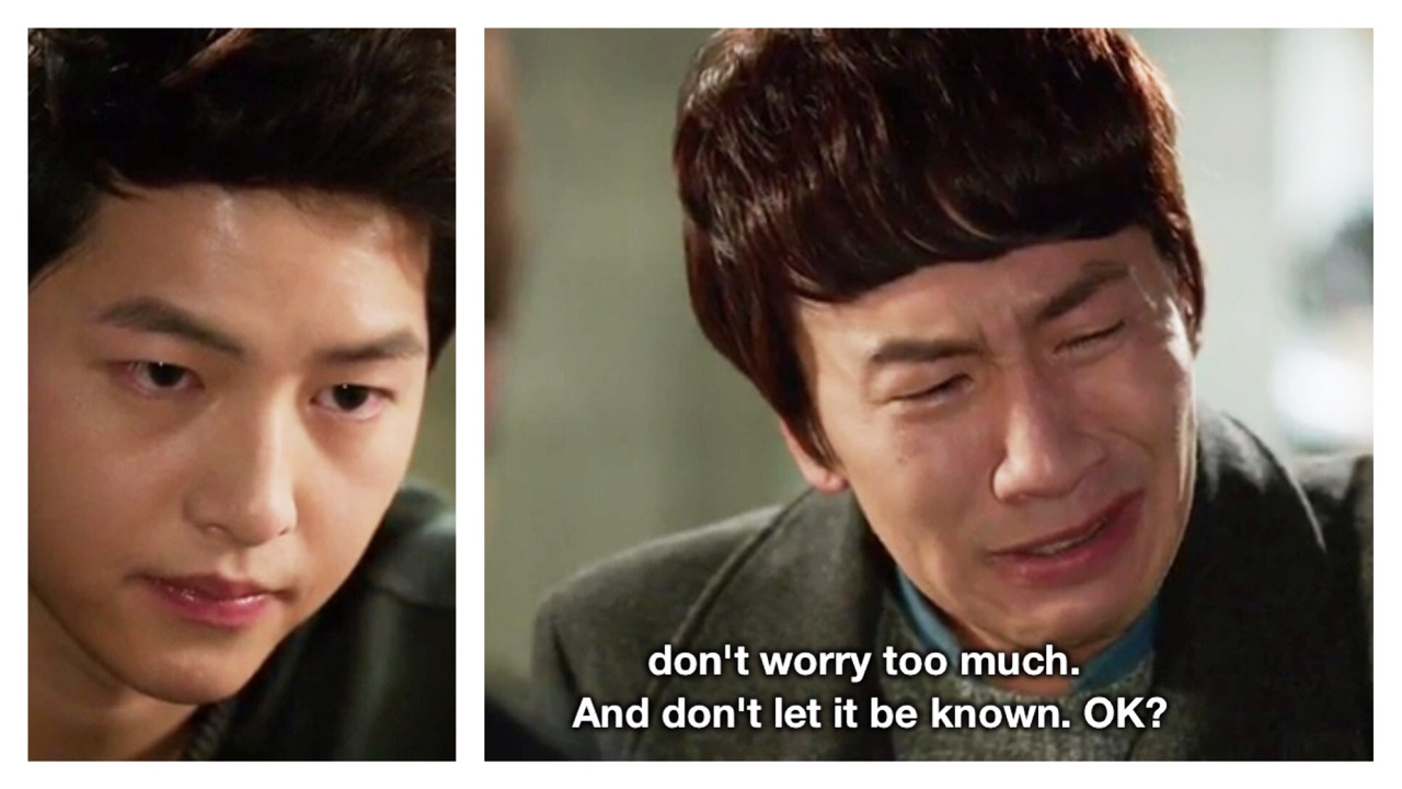 kmusingsbyaj:  Seeing Jae Gil's face while watching this scene was like looking into a mirror. *blows nose*