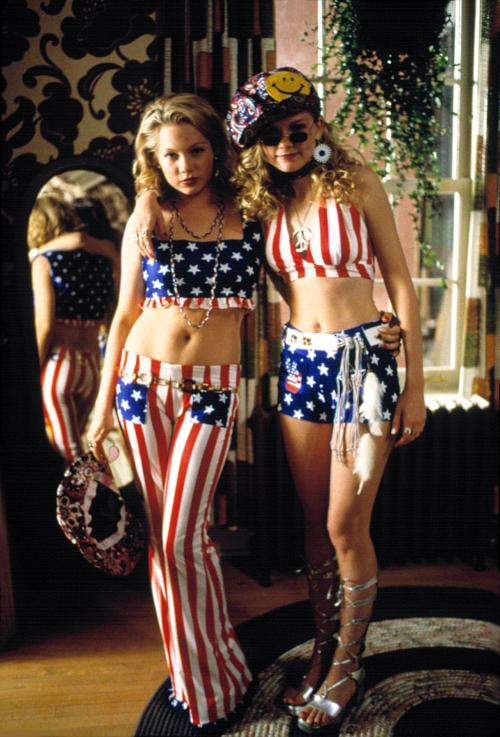 nominal-realism:  Kirsten Dunst + Michelle Williams in Dick. 1999!