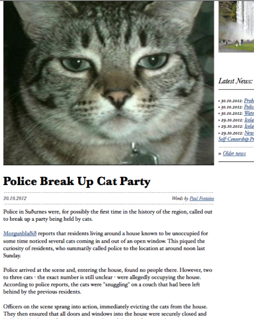 funnyordie:  This Headline is Just the Best Thankfully, this was broken up before the snuggling got out of hand.
