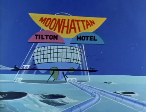 The Jetsons Moonhattan Tilton Hotel