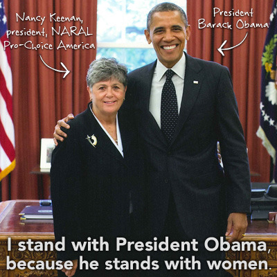 "Elections are THIS Tuesday! We are proud to stand firm with President Obama, because he stands firm for women. Will you help us spread the word to all those voters who are still making up their minds? Sign our petition to say loud and proud ""President Obama, I stand with you."" **Take the pledge—-> http://bit.ly/Rzehip <—-Take the pledge**"