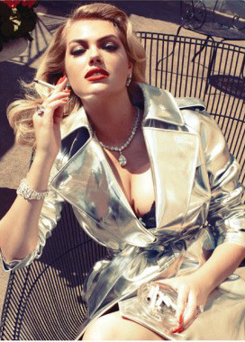 Kate Upton x Vogue Italia The most hyped model shows up again - this time on the cover of the italian Vogue. See more pictures here. [ko]