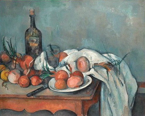 Paul Cézanne Still Life with Onions 1896-98