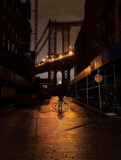No Street Lights in NYC by Guillaume Gaudet (via My Modern Metropolis)