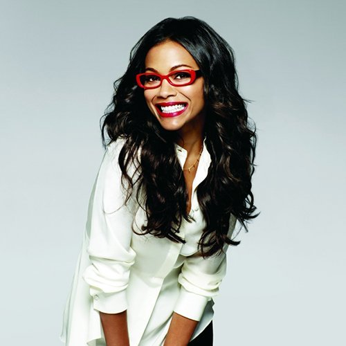 Snapshot: Zoe Saldana by Yu Tsai for Lenscrafters