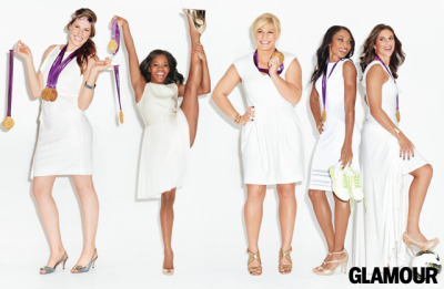 "Glamour Magazine Women of The Year 2012Gold-Medal Olympians are Women of the Year because…""There used to be a masculinity associated with women in sports. Not now! Girls aspire to be athletes—and they look up to these women."" - Chris Evert… read more here"